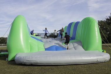 Giant Inflatable Obstacle Course / 5k Insane Inflatable Obstacle Course Games For Event