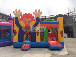 Large Industrial Small Toddler Or Kids Clown Bounce House On Clearance